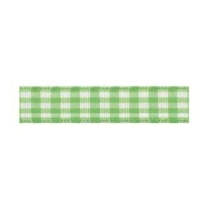 Текстилна панделка - VICHY - 10 - 127