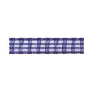 Текстилна панделка - VICHY - 10 - 614