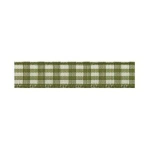 Текстилна панделка - VICHY - 10 - 621