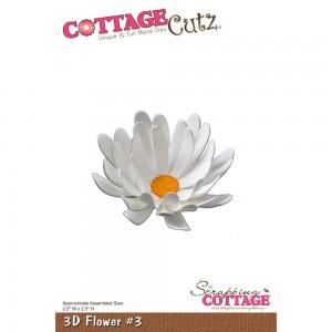 Cottage Cutz CC125 - 3D Flower 3