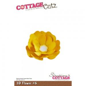 Cottage Cutz CC128 - 3D Flower 6