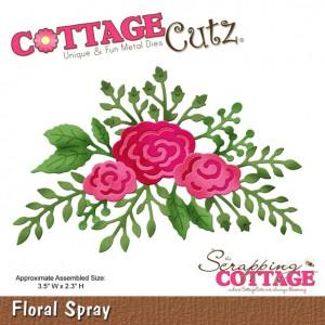 Cottage Cutz CC103 - Floral Spray