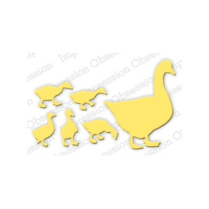 Impression Obsession DIE398-F - Duck Set