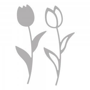 Rayher Hobby 59230000 - Double Tulips
