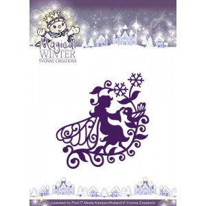 Find It Trading YCD10043 - Yvonne Creations Magical winter - Fairy
