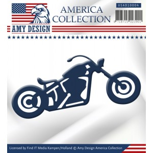 Find It Trading USAD10004 Amy Design America Collection - Bike