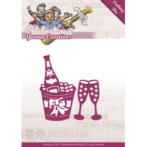 Find It Trading YCD10046 - Yvonne Creations Celebrations - Champagne
