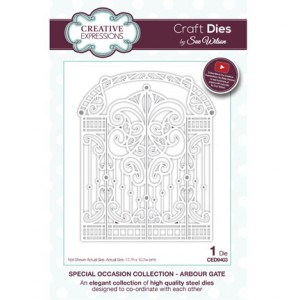 Creative Expressions CED9403 - Arbour Gate