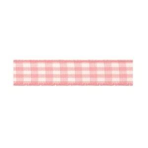 Текстилна панделка - VICHY - 10 - 604
