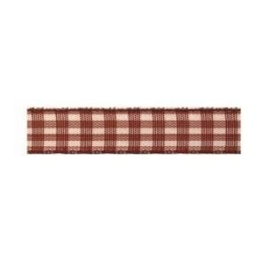 Текстилна панделка - VICHY - 10 - 723