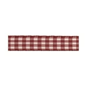 Текстилна панделка - VICHY - 10 - 619