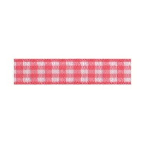 Текстилна панделка - VICHY - 10 - 606