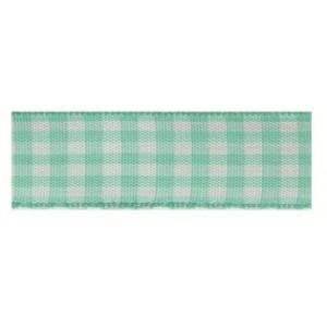 Текстилна панделка - VICHY - 15 - 036