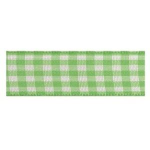 Текстилна панделка - VICHY - 15 - 127