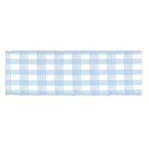 Текстилна панделка - VICHY - 15 - 602