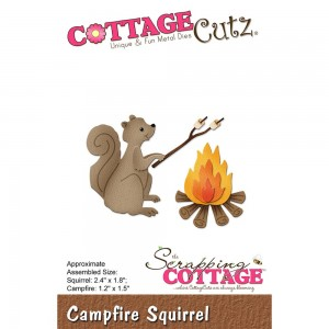 Cottage Cutz CC250 - Campfire Squirrel