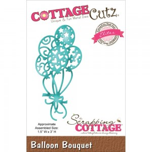 Cottage Cutz CCE151 - Balloon Bouquet