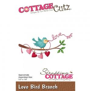 Cottage Cutz CC263 - Love Bird Branch