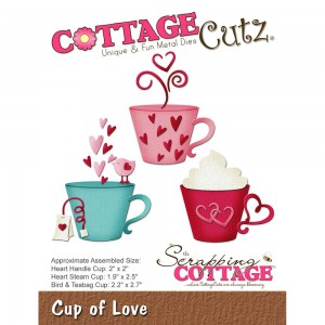 Cottage Cutz CC262 - Cup of Love