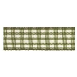 Текстилна панделка - VICHY - 15 - 621