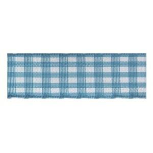 Текстилна панделка - VICHY - 15 - 612