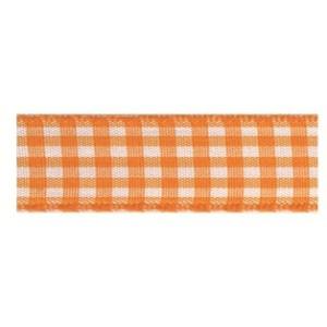 Текстилна панделка - VICHY - 15 - 620
