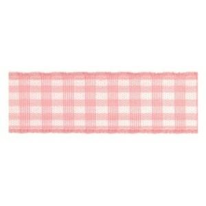 Текстилна панделка - VICHY - 15 - 604