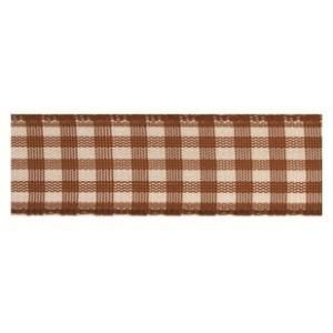 Текстилна панделка - VICHY - 15 - 723
