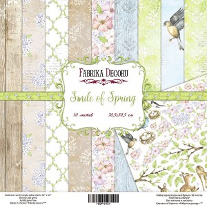 Fabrika Decoru FDSP-01014 12'x12' - Smile of Spring