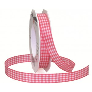 Текстилна панделка - VICHY - 15 - 606