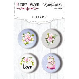 Fabrika Decoru FDSC-157 Flair Buttons - Set 157