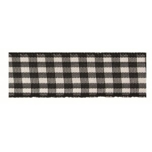 Текстилна панделка - VICHY - 15 - 613