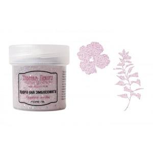 Fabrika Decoru FDPE-18 Embossing Powder with Glitter - Pink Shabby