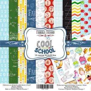 Fabrika Decoru FDSP-01037 12'x12' - Cool School
