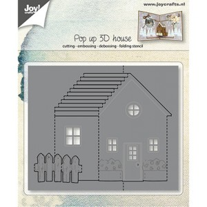 Joy crafts 6003/2015 - Pop up - 3D House