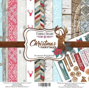 Fabrika Decoru FDSP-01039 12'x12' - Christmas Fairytales