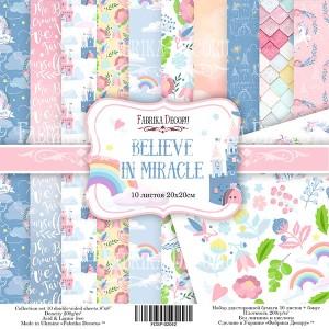 Fabrika Decoru FDSP-02042 8'x8' - Believe in Miracle