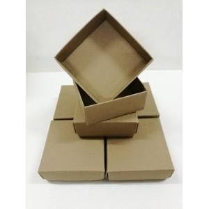 Комплект малки кутии КБ02 / 6 бр. - Кафяв