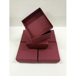Комплект малки кутии КБ02 / 6 бр. - Бордо