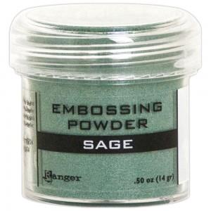Ranger EPJ60406 Embossing Powder - Sage Metallic