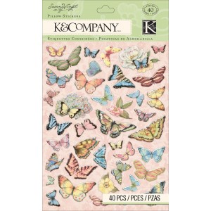 K&Company 30-663268 3D Sticker - Butterfly