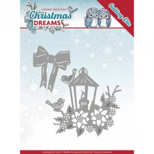 Find It Trading YCD10145 - Yvonne Creations Christmas Dreams - Christmas Lantern