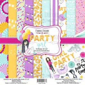 Fabrika Decoru FDSP-01063 12'x12' - Party Girl