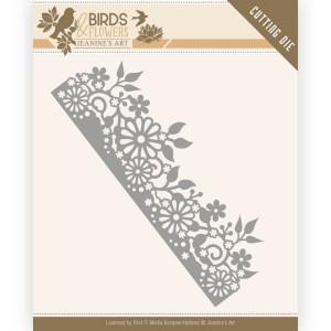 Jeanines Art JAD10058 Birds and Flowers - Daisy Border