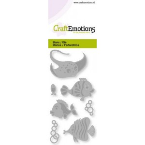 CraftEmotions 115633/0247 - Tropical Fish