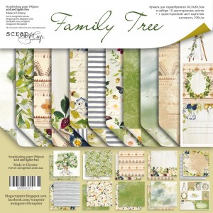 Scrapmir SM5600011 12'x12' - Family Tree
