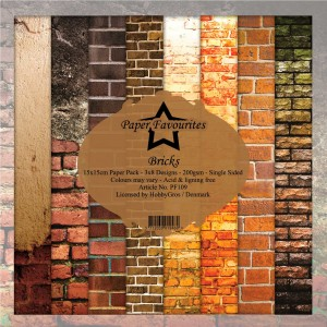 Dixi Craft PF109 6'x6' - Bricks