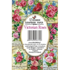 Decorer M81 7x10.8cm - Victorian Roses