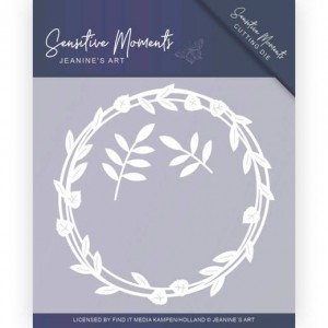 Jeanines Art JAD10097 Sensitive Moments - Leaf Circle