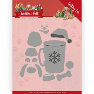 Find It Trading ADD10213 Amy Design Christmas Pets - Christmas Dog